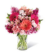 The Blushing Beauty Bouquet